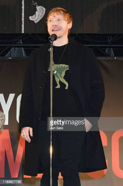 Rupert Grint attends the opening ceremony for the Tokyo Comic Con 2019 at Makuhari Messe on November 22 2019 in Chiba Japan
