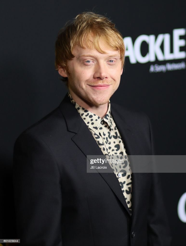 Rupert Grint attends the premiere screening of Crackle's 'Snatch' on March 9, 2017 in Los Angeles, California.