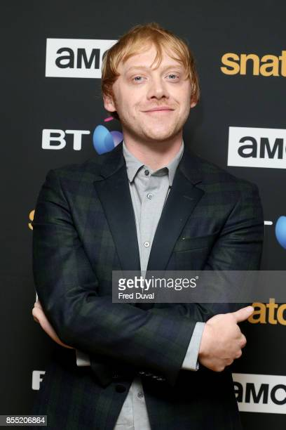 Rupert Grint attends the 'Snatch' TV show premiere at BT Tower on September 28 2017 in London England