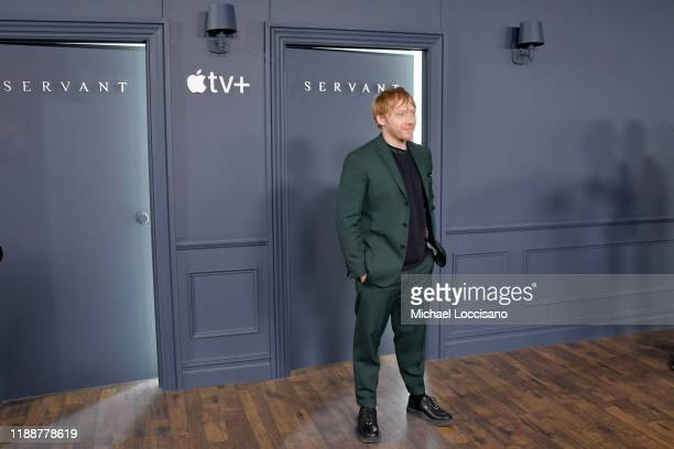 Rupert Grint attends the world premiere of Apple TV's Servant at BAM Howard Gilman Opera House on November 19 2019 in the Brooklyn Borough of New...
