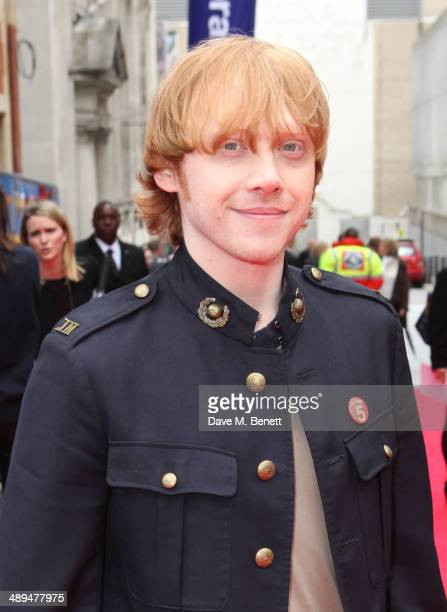 Rupert Grint attends the World Premiere of 'Postman Pat' at Odeon West End on May 11 2014 in London England