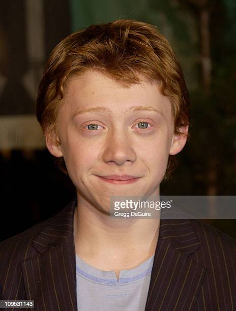 Rupert Grint during Harry Potter and the Chamber of Secrets Premiere Los Angeles Arrivals at Mann Village Theatre in Westwood California United States
