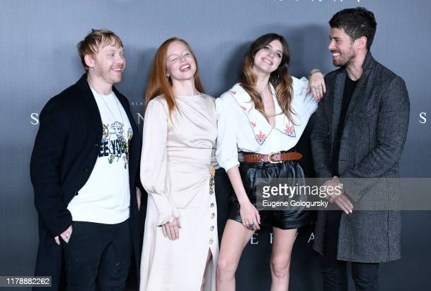 Rupert Grint, Lauren Ambrose, Nell Tiger Free and Toby Kebbell attend Servant Panel during New York Comic Con at Hammerstein Ballroom on October 03,...