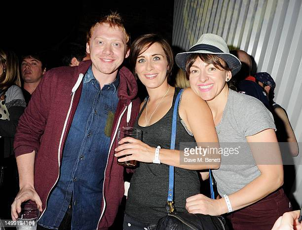 Rupert Grint Vicky McClure and Jo Hartley attend as The Stone Roses perform a secret gig at adidas Underground on August 6 2012 in London England