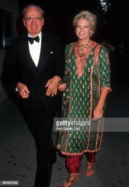 Rupert Murdoch and Anna Murdoch