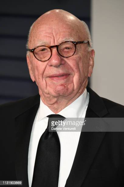 Rupert Murdoch attends 2019 Vanity Fair Oscar Party Hosted By Radhika Jones at Wallis Annenberg Center for the Performing Arts on February 24, 2019...