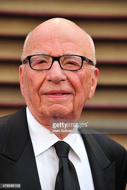 Rupert Murdoch attends the 2014 Vanity Fair Oscar Party hosted by Graydon Carter on March 2 2014 in West Hollywood California