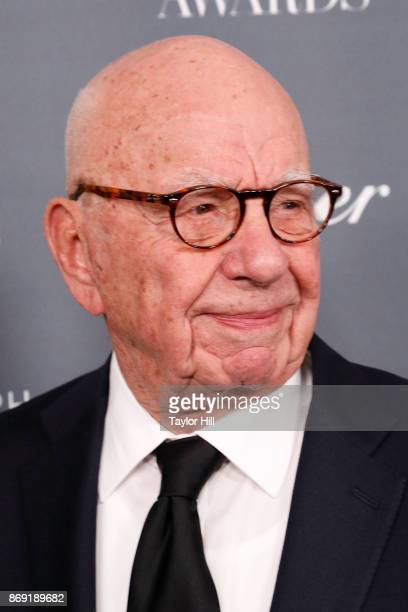 Rupert Murdoch attends the 2017 WSJ Innovator Awards at Museum of Modern Art on November 1 2017 in New York City