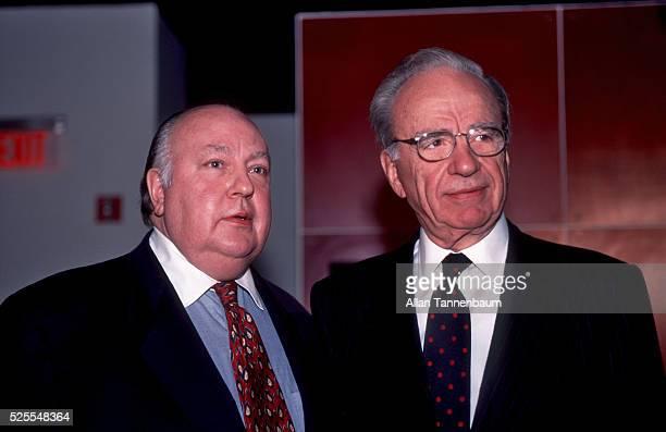 Rupert Murdoch names Roger Ailes as the head of Fox News New York New York January 30 1996