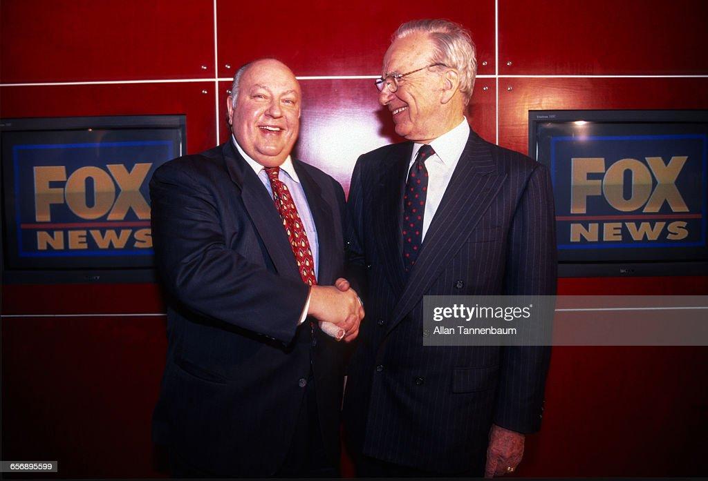 Rupert Murdoch Names Roger Ailes As Head Of Fox News : News Photo
