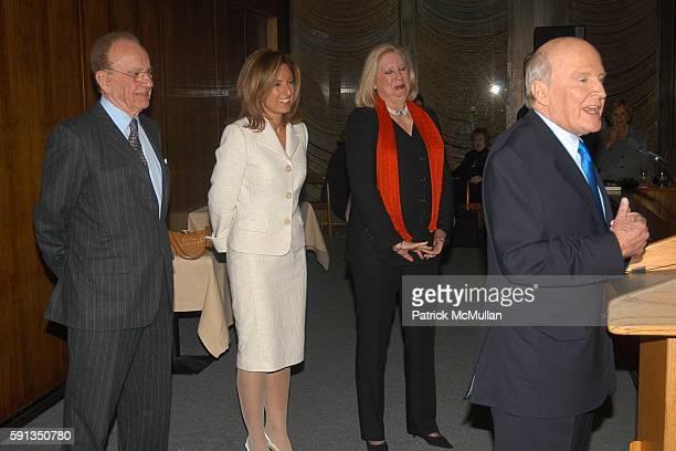 Rupert Murdoch Suzy Welch Jane Friedman and Jack Welch attend Rupert Murdoch Hosts a Cocktail Reception for the Release of Jack Welch's Book Winning...