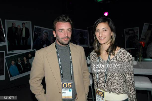 Rupert Murray director of Unknown White Male and Jessica Sanders director of After Innocence