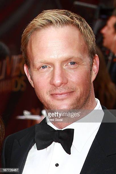 Rupert PenryJones attends The Laurence Olivier Awards at The Royal Opera House on April 28 2013 in London England