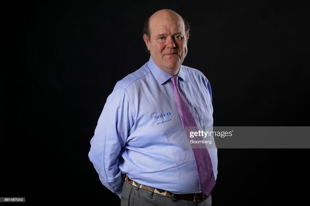 Serco Group Plc Chief Executive Officer Rupert Soames Inteview
