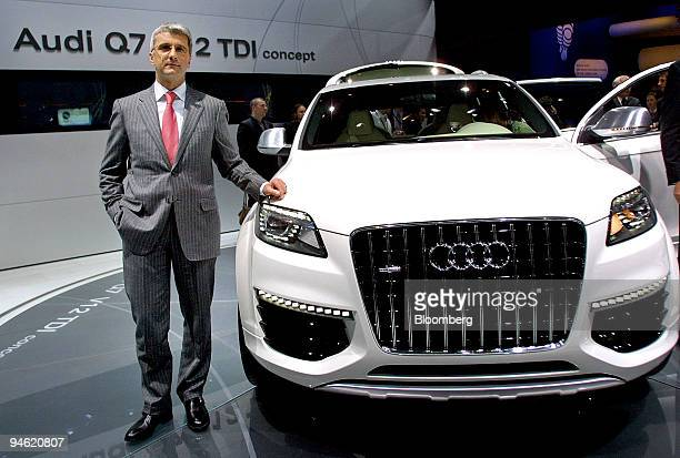 Audi Q7 V12 Tdi Stock Photos And Pictures Getty Images