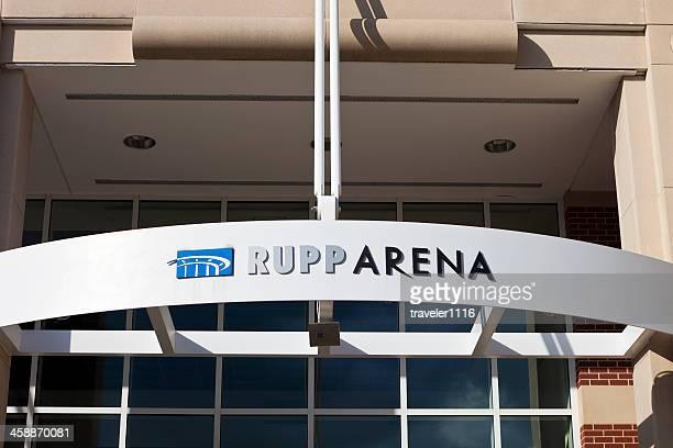 rupp arena in lexington, kentucky - lexington kentucky stock photos and pictures