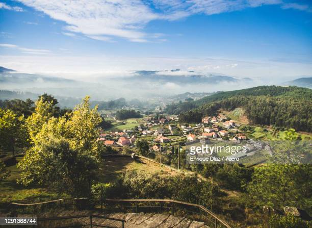 rural area in redondela, galicia - spain stock pictures, royalty-free photos & images