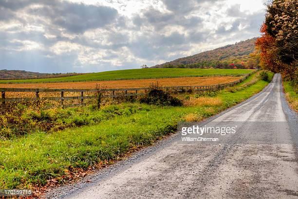 Rural Autumn Landscape  HDR