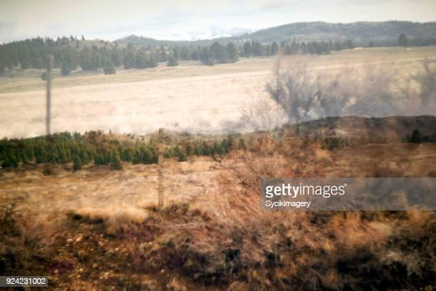 Rural Eastern Oregon, digital composite