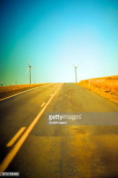 Rural highway in Eastern Oregon, USA