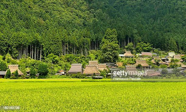Rural Japan at Miyamacho Kayabuki-no-sato