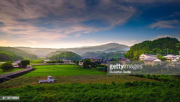Rural landscape at Saga , Japan
