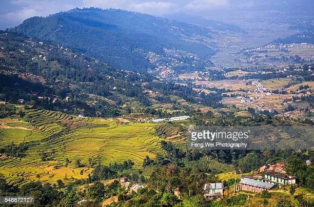 Rural landscape, Nagarkot, Nepal