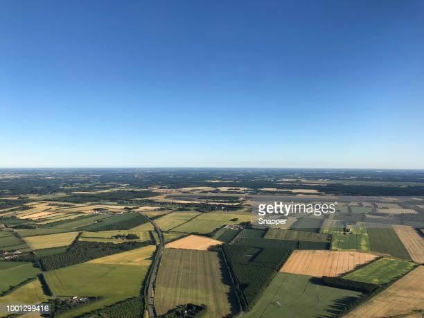 Rural landscape near Billund, Jutland, Denmark