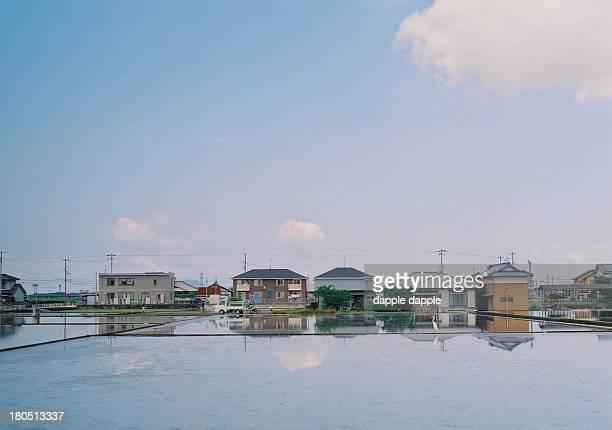 Rural landscape of Japan