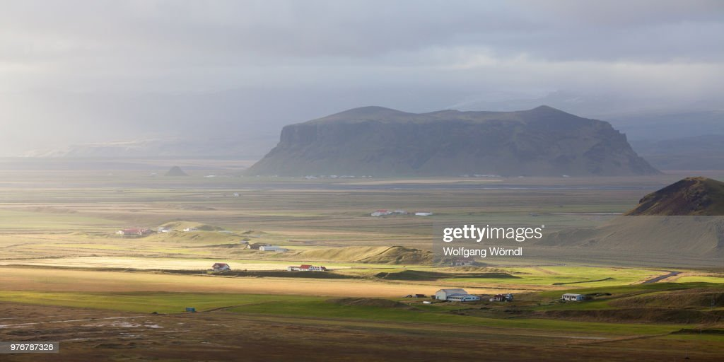 A rural landscape. : ストックフォト