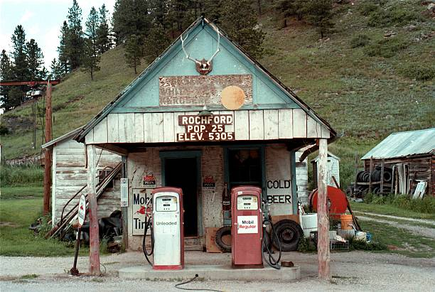 Rural Mobil Gas Station