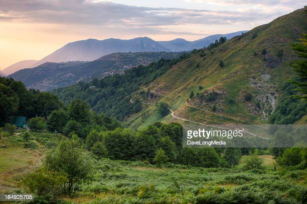 rural mountain landscape - kosovo stock pictures, royalty-free photos & images