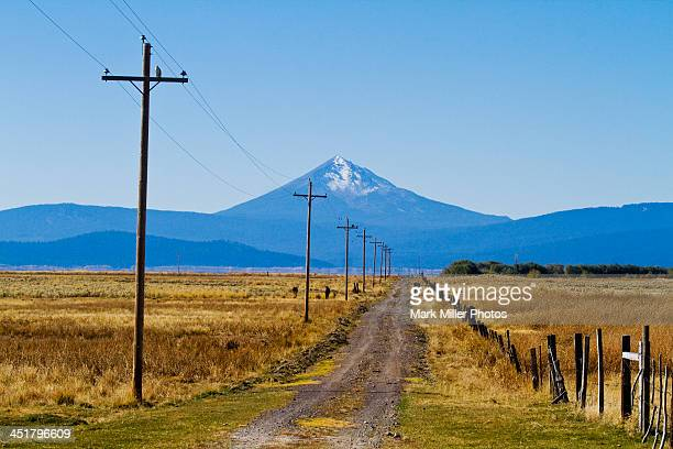 Rural Oregon, USA  country road
