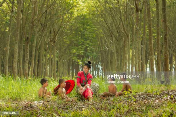 Rural people daily lifestyle