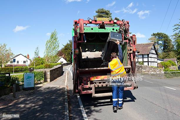 Rural refuse collection, Herefordshire