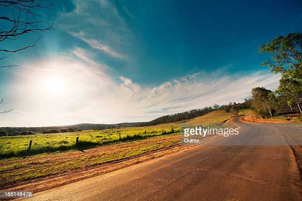 rural road - country road stock pictures, royalty-free photos & images