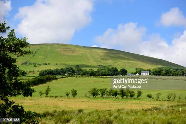 Rural scene at Ballycastle, County Antrim, Northern Ireland