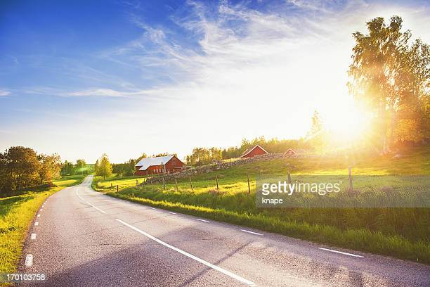 Rural scene in Linköping Sweden