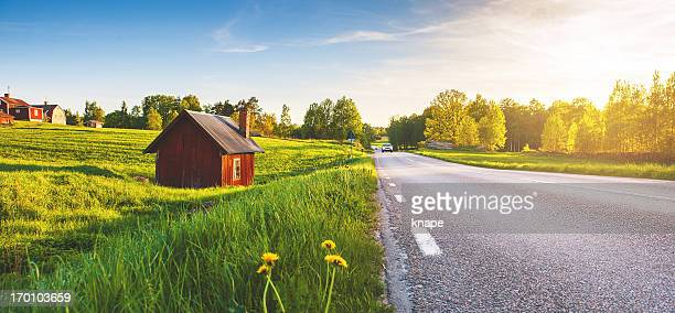 Rural scene in Sweden