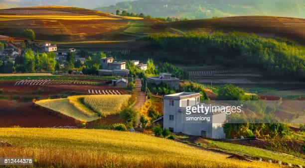 Rural Scene in Yunnan, China
