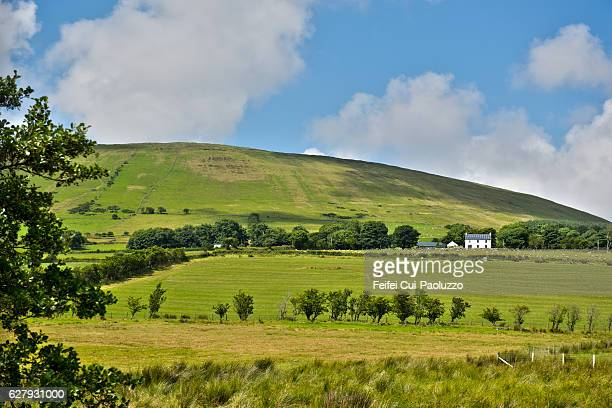 Rural scene near Ballycastle in County Antrim of Northern Ireland