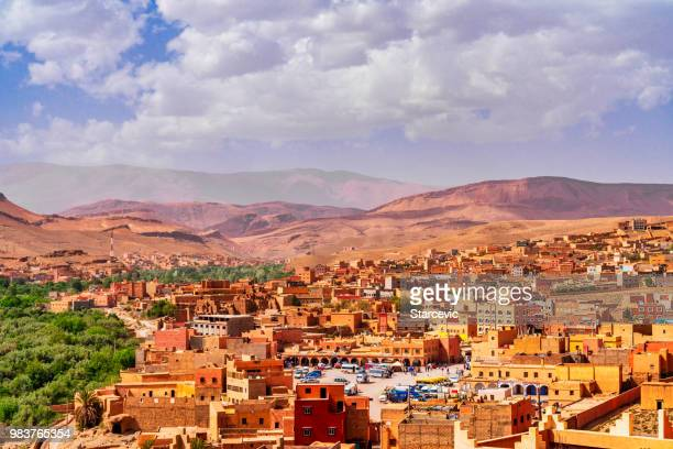 Rural town in Morocco