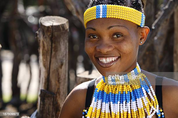 rural tribal zulu woman - zulu women stock pictures, royalty-free photos & images