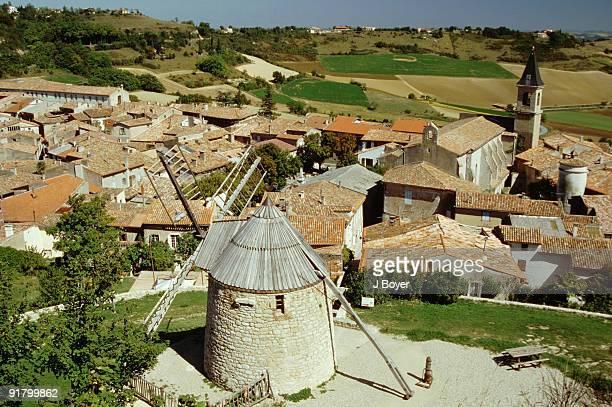 Rural village, Lautrec, Tarn, France
