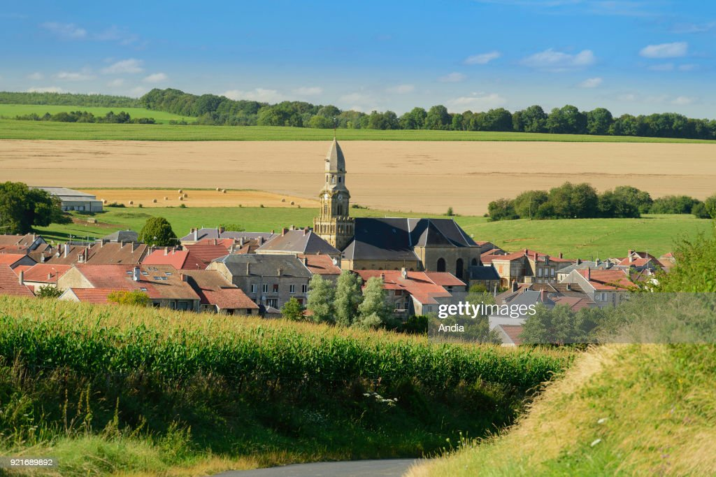 Rural village of Beaumont-en-Argonne (north-eastern France).