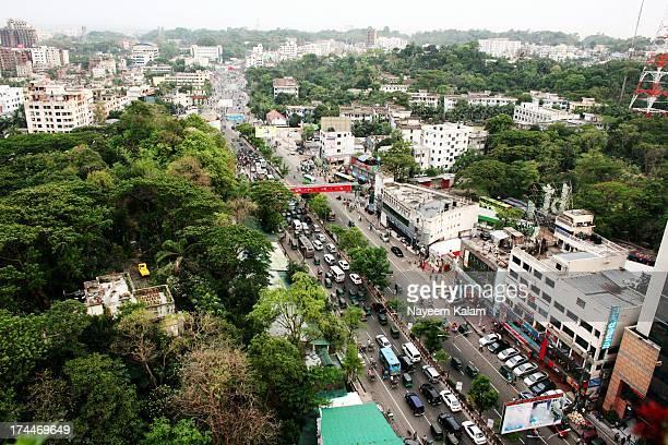 Rush hour at Bangladesh