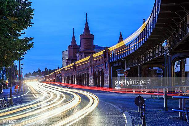 Rush hour at Berlin Oberbaumbrücke