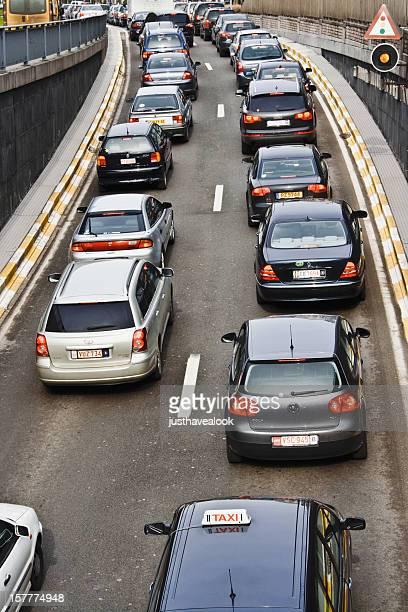 Rush-hour in Brüssel
