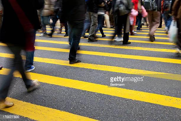Rush-hour in Hong Kong