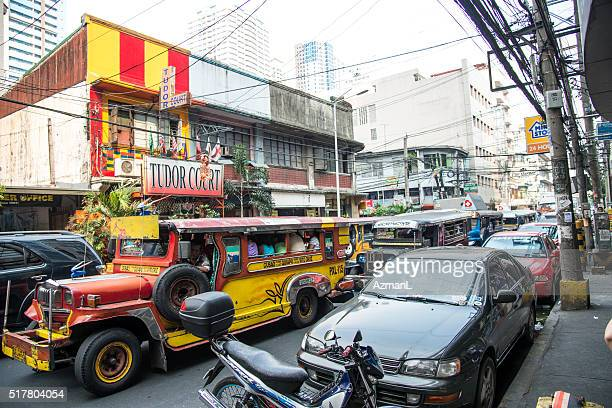 Rush-hour in Manila